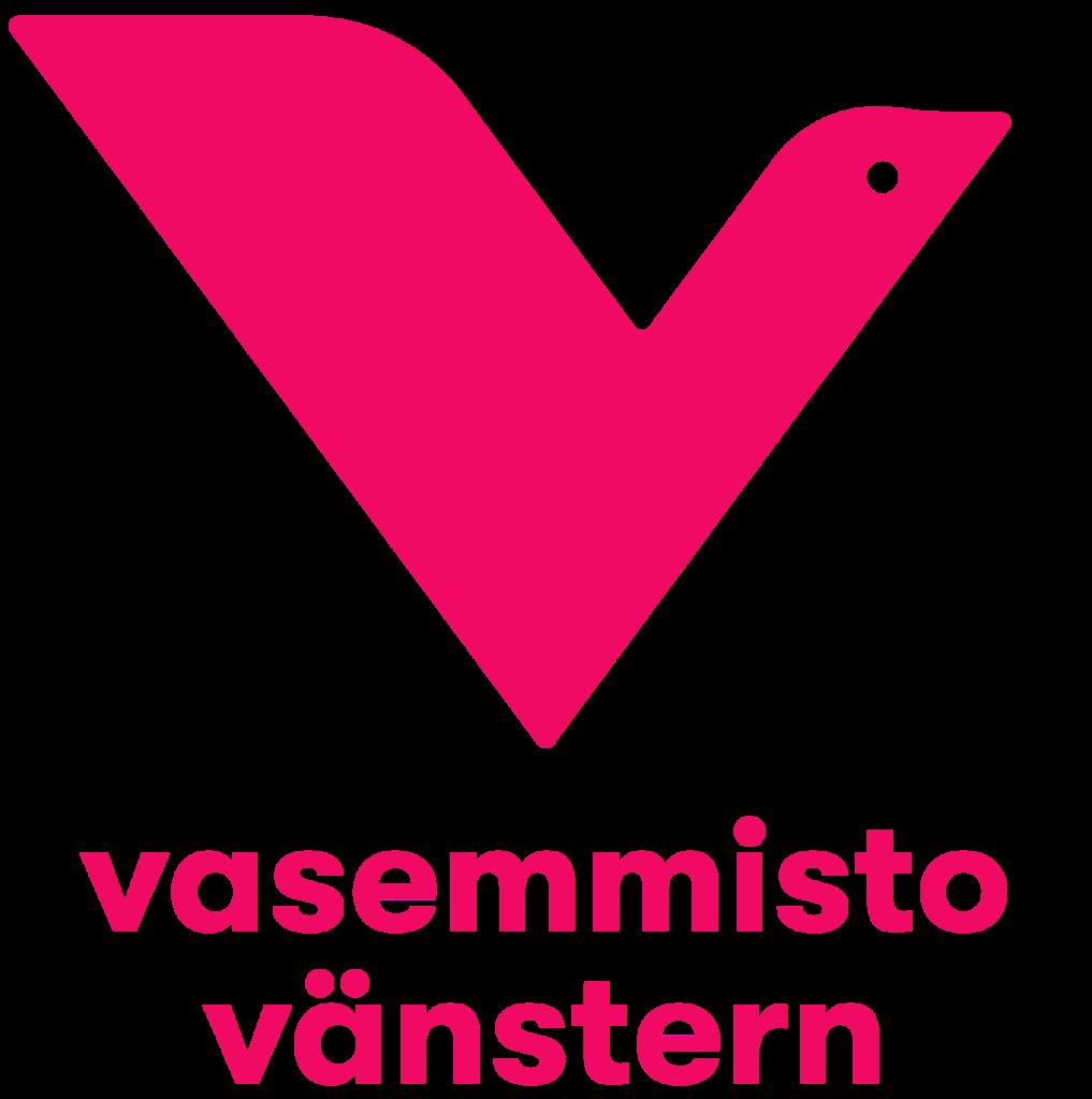 Vasemmistoliiton logo